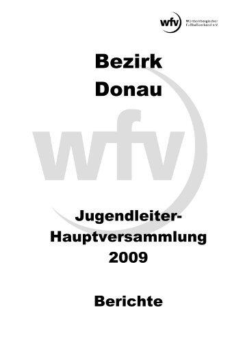 Berichte - Jugendfussball im Bezirk Donau