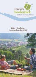 Veranstaltungen Frankens-Saalestueck-Weinkalender-2013