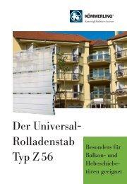 Der Universal- Rolladenstab Typ Z 56 - Rolladen Müllers GmbH ...