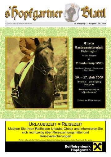 Juliausgabe (6,98 MB) - Gemeinde Hopfgarten - Land Tirol