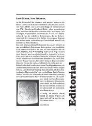 Editorial - Quickborn. Vereinigung für niederdeutsche Sprache und ...