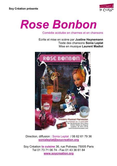 Rose Bonbon - Soy Création