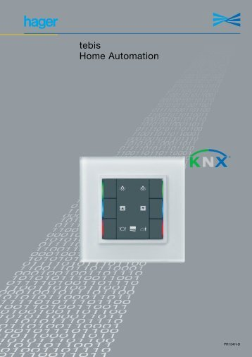 tebis Home Automation - Hager