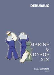 marines & voyage xix - La Rose des Vents antiquités de marine