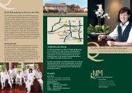 Premium Komfort- und Hotelleistungen in der Park-Klinik