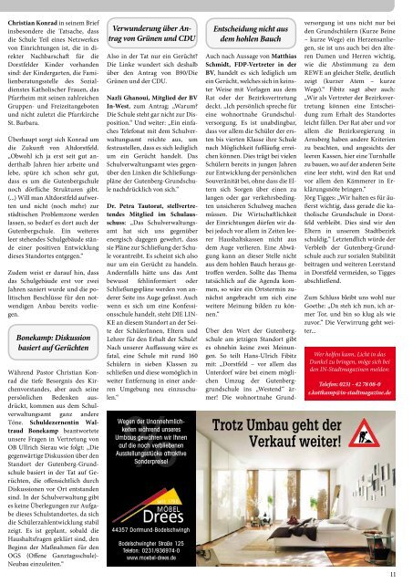 die Elternschule in Dortmund - Dortmunder & Schwerter ...