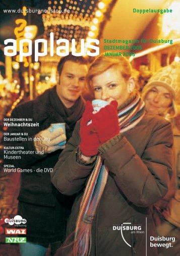 Doppelausgabe Dezember 2005/Januar 2006 - Duisburg nonstop