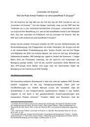 Leninisten mit Knarren War die Rote Armee Fraktion ... - Rote Ruhr Uni