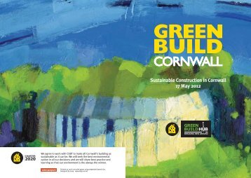 Sustainable Construction in Cornwall 17 May 2012