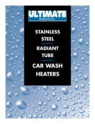 CAR WASH HEATERS - Ultimate Products