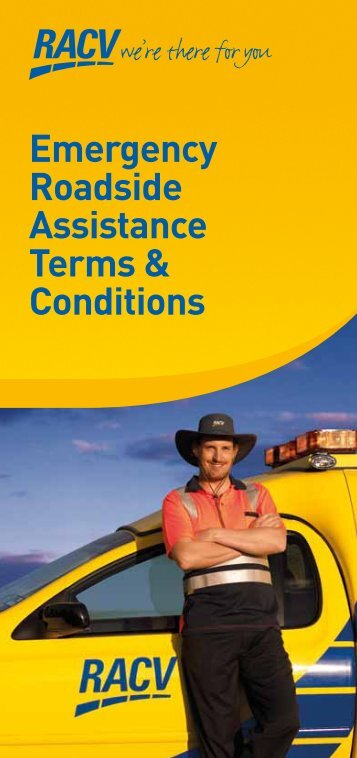 Emergency Roadside Assistance Terms & Conditions - RACV