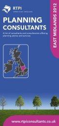 East Midlands - Planning Consultants Online Directory