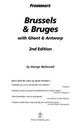 2nd Edition Brussels & Bruges with Ghent & Antwerp