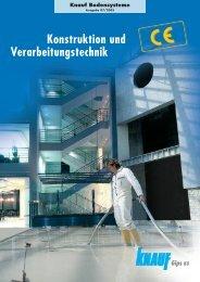 Konstruktion und Verarbeitungstechnik - Knauf