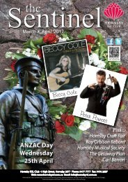 Sunday 25 March 2011 ~ 11am - 4pm - Hornsby RSL Club