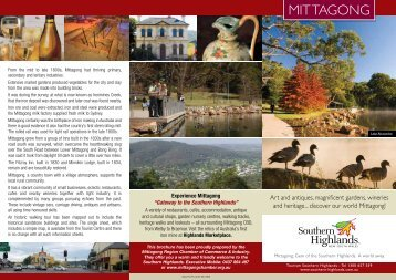 Mittagong - Southern Highlands