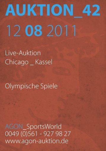 auktion_42 - AGON Auktion