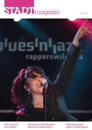 Ausgabe Juni 2011 - STADTmagazin Rapperswil-Jona