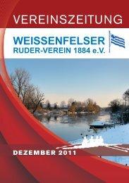 Ausgabe 03 / 2011 (PDF – 7 MB) - WEISSENFELSER-RUDER ...