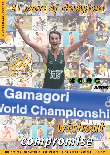 WAIS - Without Compromise 18 - Australian Sports Commission
