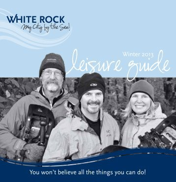 Leisure Guide - City of White Rock