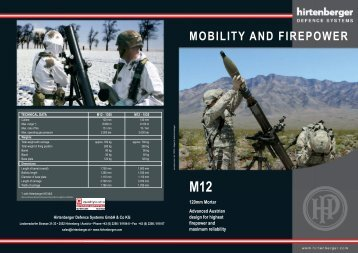MOBILITY AND FIREPOWER