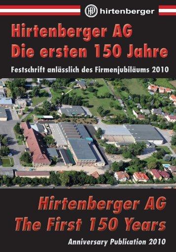 Hirtenberger AG - Die ersten 150 Jahre