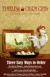 Three Easy Ways to Order - Timeless Charm Gifts