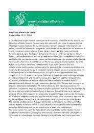 Rutelli vara Alleanza per l'Italia Il Sole 24 Ore 12-11-2009 Si chiama ...