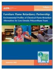 Environmental Profiles of Chemical Flame-Retardant Alternatives for