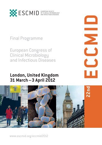 Final Programme European Congress of Clinical Microbiology and ...