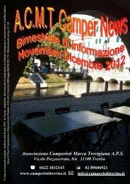 2012 nov. - dic. - Associazione Camperisti della marca trevigiana