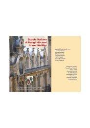 libro sui 60 anni della scuola italiana - il sito dell'Associazione Genitori