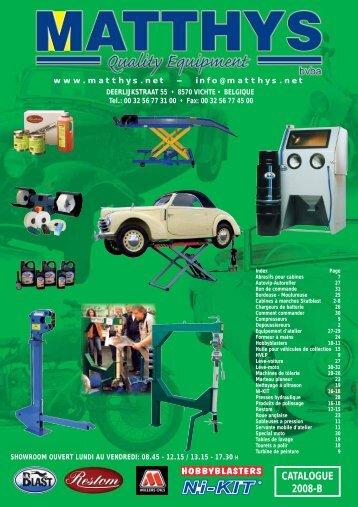 CATALOGUE 2008-B - Ni-Kit