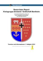 Reservisten Report Kreisgruppe Emsland / Grafschaft Bentheim