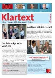 können Sie das Sommermagazin lesen... - SPD in der Stadt Celle