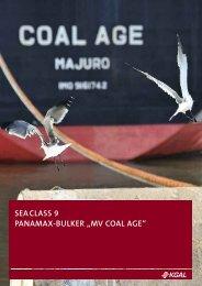 "SEACLASS 9 PANAMAX-BULKER ""MV COAL AGE"" - Scope"