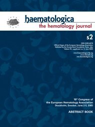 10th Congress of the European Hematology Association