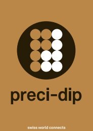 swiss world connects - PRECI-DIP SA