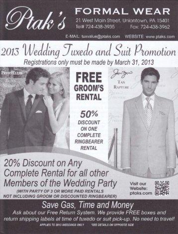 promotion flyer - Ptak's