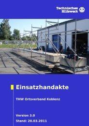 Ausstattung - THW Koblenz