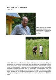Heinz Vetter zum 75. Geburtstag - Arbeitskreis Heimische Orchideen ...