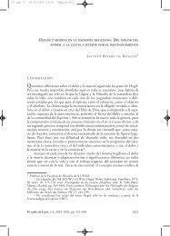 Dolor y muerte en la filosofía hegeliana. Del - Liga Española Pro ...