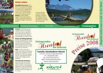 Nirgends wohnt man so nah' an der Natur - Ferienparadies Ilsenhof