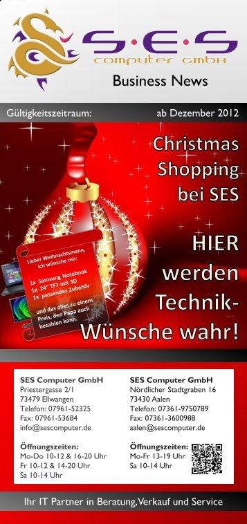 Gesamtkatalog 12|12 - SES Computer GmbH
