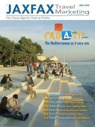 Croatia's - JAXFAX Editorial Archives - JAXFAX Travel Marketing ...