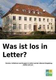 Vereinigte Liedertafel Letter - Letter-Fit