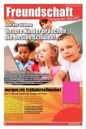 Freundschaft 1/2011 - SPÖ Oberösterreich