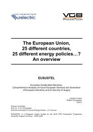 The European Union, 25 different countries, 25 ... - Eusustel.be