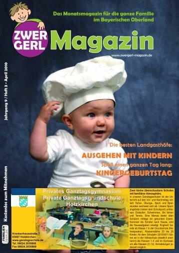 Das Monatsmagazin für die ganze Familie - Zwergerl-Magazin